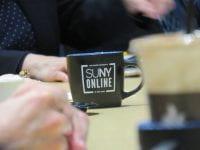 small SUNY Online mug